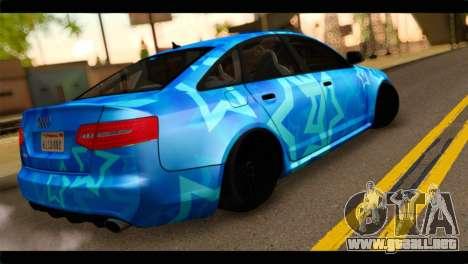 Audi RS6 VIP Star para GTA San Andreas left