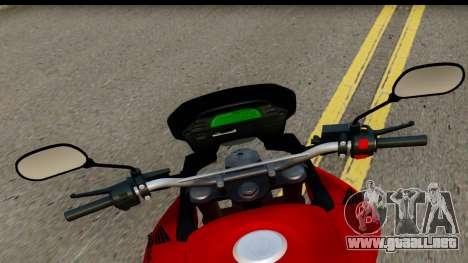 Honda XRE 300 v2.0 para GTA San Andreas vista posterior izquierda