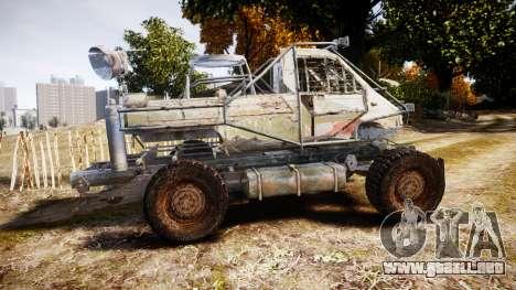 Militar camión blindado para GTA 4 left