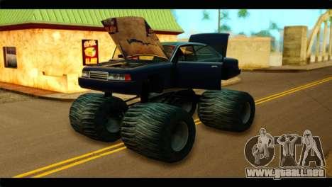 Monster Merit para la visión correcta GTA San Andreas