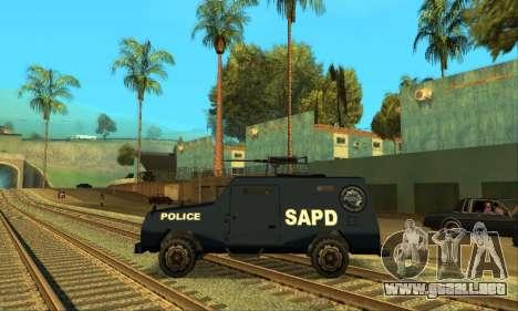Beta FBI Truck para la visión correcta GTA San Andreas