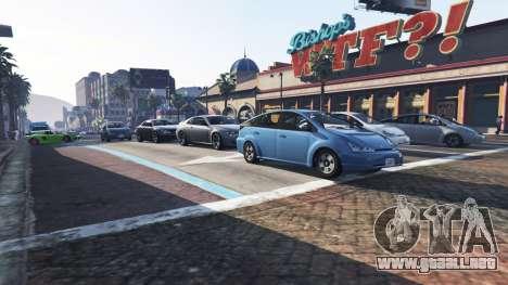 GTA 5 Más tráfico y población tercera captura de pantalla