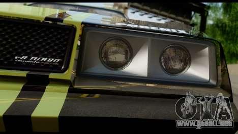 GTA 5 Imponte Phoenix IVF para GTA San Andreas vista hacia atrás