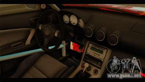 Nissan Silvia S15 Drift Hirasawa Yui Itasha para la visión correcta GTA San Andreas
