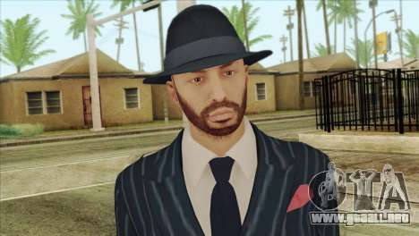 GTA 5 Online Skin 3 para GTA San Andreas tercera pantalla