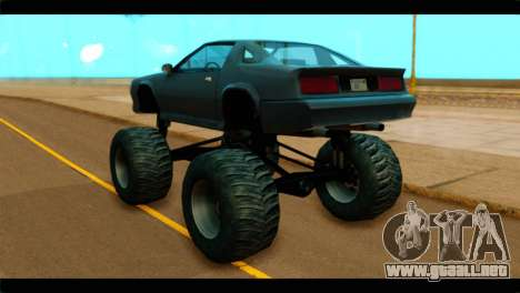Monster Buffalo para GTA San Andreas left