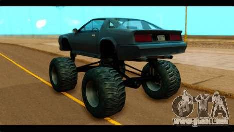 Monster Buffalo para GTA San Andreas left