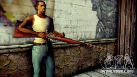 Tokisaki Kurumi Rifle para GTA San Andreas tercera pantalla