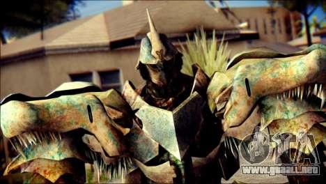 Grimlock Skin from Transformers para GTA San Andreas tercera pantalla