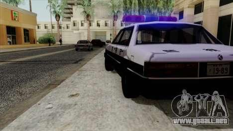 Karin Primo Police para la visión correcta GTA San Andreas