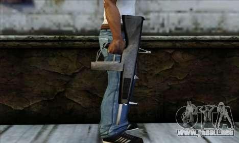 AA-12 Weapon para GTA San Andreas tercera pantalla