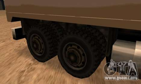 Barracks Fixed para la visión correcta GTA San Andreas