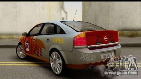 Opel Vectra para GTA San Andreas left