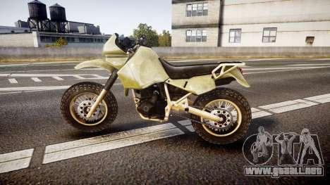 Dirt Bike para GTA 4 left