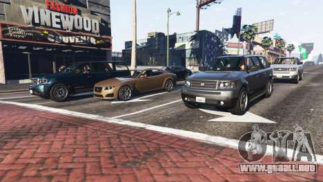 GTA 5 Más tráfico y población