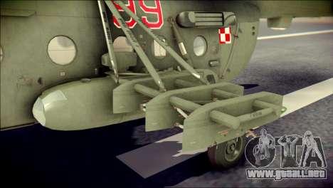 Mil Mi-8 Polish Air Force EUFOR para la visión correcta GTA San Andreas