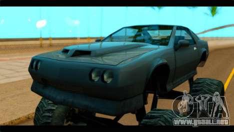 Monster Buffalo para la visión correcta GTA San Andreas