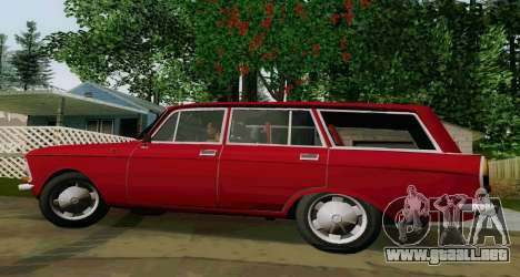 IZH-412 Wagon para GTA San Andreas left