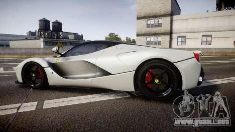 Ferrari LaFerrari 2013 HQ [EPM] para GTA 4 left