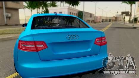 Audi RS6 Vossen para la visión correcta GTA San Andreas