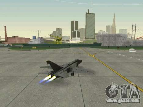 SU 24MR para visión interna GTA San Andreas