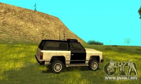 Beta Police Ranger para visión interna GTA San Andreas