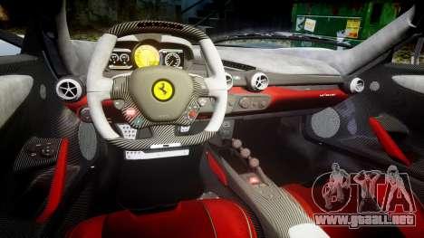 Ferrari LaFerrari 2013 HQ [EPM] para GTA 4 vista interior