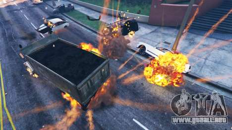 GTA 5 El debilitamiento del vehículo segunda captura de pantalla