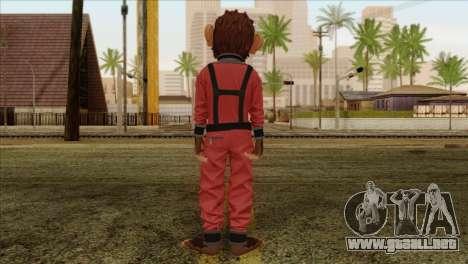 Monkey from GTA 5 v3 para GTA San Andreas segunda pantalla