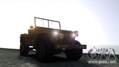 Ford Willys 1942 para GTA 4 visión correcta