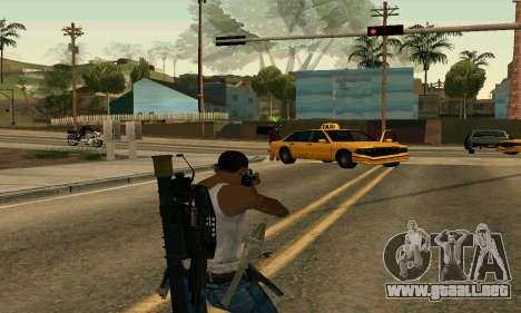 M4A1 Hyper Beast para GTA San Andreas tercera pantalla