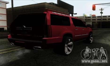 Cadillac Escalade 2013 para GTA San Andreas left