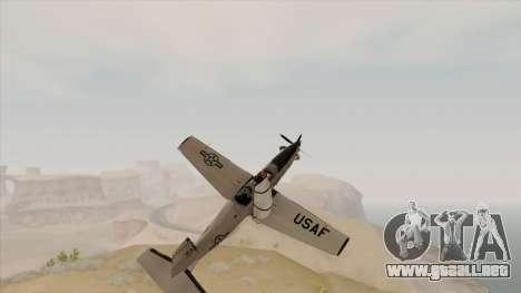 EMB T-6A Texan II US Navy para la visión correcta GTA San Andreas
