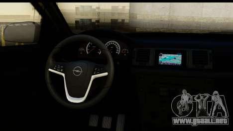 Opel Vectra para visión interna GTA San Andreas