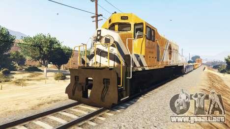 GTA 5 Conductor de tren