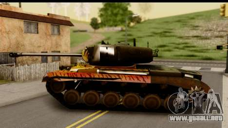 M26 Pershing Tiger para GTA San Andreas left