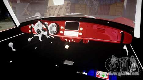 BMW 507 1959 Stock Hamann Shutt VX4 [RIV] para GTA 4 vista interior