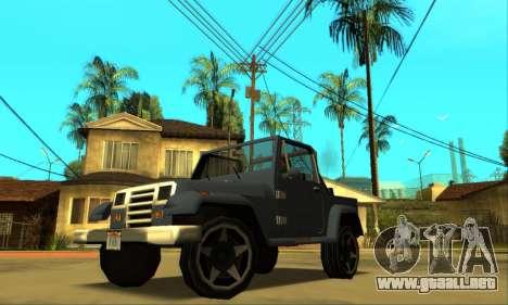 Mesa Final para la vista superior GTA San Andreas