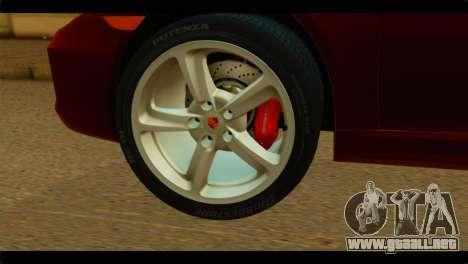 Monster Picador para GTA San Andreas vista posterior izquierda