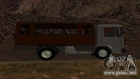 Roman Bus Edition para la visión correcta GTA San Andreas