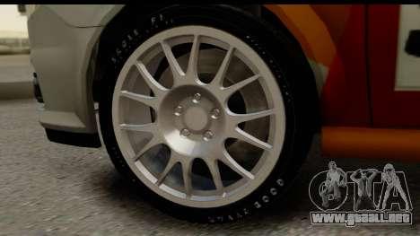 Opel Vectra para GTA San Andreas vista hacia atrás