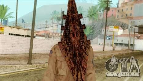 Bogeyman Alex Shepherd Skin without Flashlight para GTA San Andreas tercera pantalla
