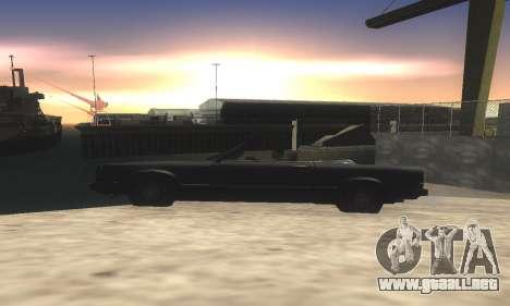 ENB v1.9 & Colormod v2 para GTA San Andreas sucesivamente de pantalla