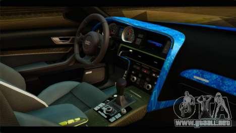 Audi RS6 VIP Star para la visión correcta GTA San Andreas