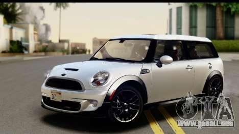 Mini Cooper Clubman 2011 para GTA San Andreas