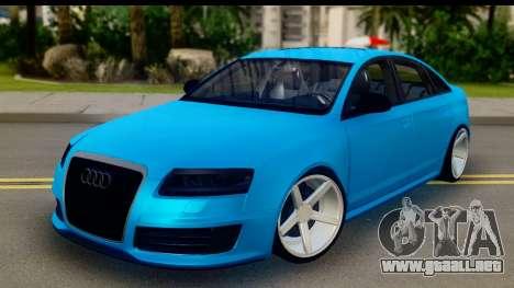 Audi RS6 Vossen para GTA San Andreas