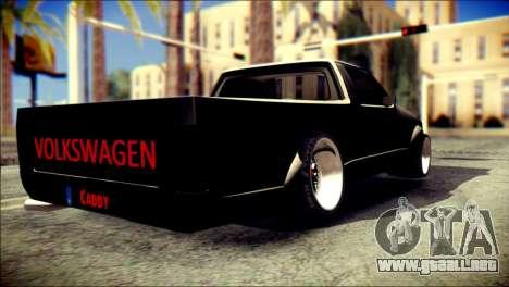 Volkswagen Caddy Widebody Top-Chop para GTA San Andreas left