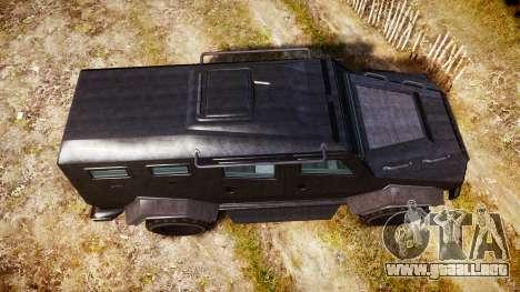 GTA V HVY Insurgent para GTA 4 visión correcta