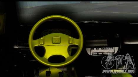 Honda Civic 1.4 Taxi para visión interna GTA San Andreas