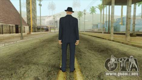 GTA 5 Online Skin 3 para GTA San Andreas segunda pantalla